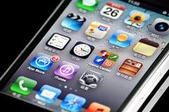 Iphone 4s de Apple Foto de Stock Royalty Free