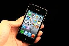 Iphone 4s del Apple Fotografie Stock Libere da Diritti