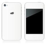 IPhone 4S im Weiß vektor abbildung