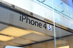 IPhone 4S logo Royalty Free Stock Photo