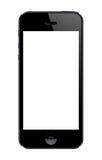 Iphone 5模板 免版税图库摄影