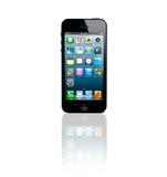 iPhone 5 μήλων Στοκ Εικόνες
