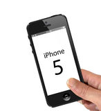 Iphone 5 Stockfoto