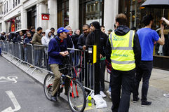 IPhone 5 launch in London Stock Images