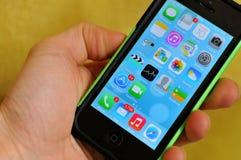 IPhone 5 Royalty-vrije Stock Afbeelding