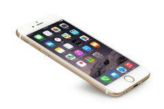 IPhone 6 Immagine Stock