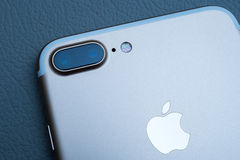 Free IPhone 7 Plus Dual Camera Unboxing - Best Smartphone Camera Stock Image - 77632821