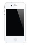 Iphone branco 4 Imagem de Stock Royalty Free