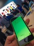 IPhone 5c Immagine Stock Libera da Diritti
