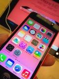 IPhone 5c Imagens de Stock