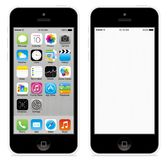 Iphone 5c royalty free stock photography