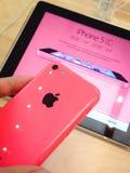 IPhone 5c Royalty Free Stock Photos