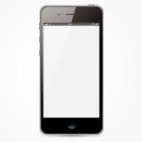IPhone con lo schermo bianco Fotografie Stock Libere da Diritti