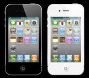 iphone czarny biel Zdjęcia Royalty Free