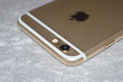 IPhone 6 d'Apple Images libres de droits