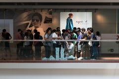 IPhone 6 de Apple e iPhone 6 positivo Fotos de Stock