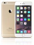 IPhone 6 del oro de Apple Imagenes de archivo
