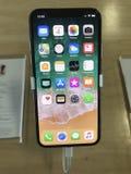 iphone x della mela Immagini Stock
