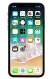 IPhone X en el fondo blanco Fotografía de archivo libre de regalías