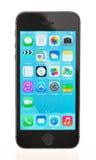 IPhone a estrenar 5S de Apple Imagenes de archivo