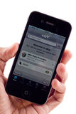 iphone för auktion för 4 äpple ebay Arkivbild