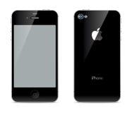 IPhone frontowe i tylne strony ilustracja wektor