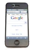 iphone google Стоковые Изображения RF