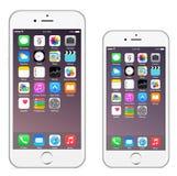 Iphone 6 Iphone 6 más ilustración del vector