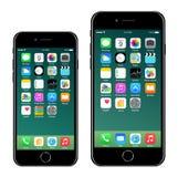 iPhone 7 4 7 Iphone 7 más 5 5 stock de ilustración