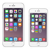Iphone 6 Iphone 6 più illustrazione vettoriale