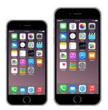 Iphone 6 Iphone 6 più Fotografie Stock