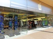 IPhone jabłczany Tłum Fotografia Royalty Free