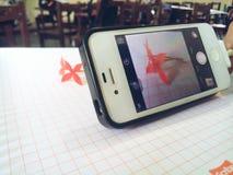 IPhone kwiat obraz stock