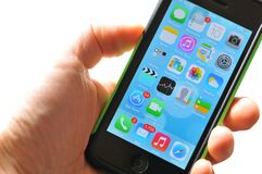 iPhone 5 Royalty Free Stock Photography