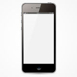 IPhone med den vita skärmen Royaltyfria Foton