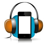 IPhone Music Royalty Free Stock Photography