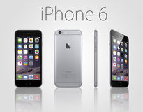 Iphone novo 6 positivo Foto de Stock