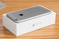 Iphone 6 plus Royaltyfria Foton