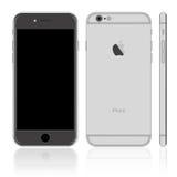 iPhone preto Imagem de Stock Royalty Free