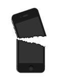 Iphone quebrado stock de ilustración