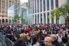 IPhone 6 release day in New York City Royalty Free Stock Image