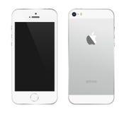 Iphone 5s白色 库存照片