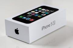 IPhone 5S箱子 库存图片
