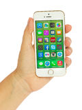 Iphone5s Royaltyfria Bilder
