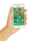 Iphone5s Royalty-vrije Stock Afbeeldingen