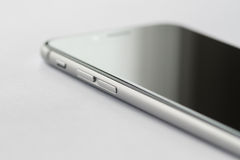 Iphone 6s abotoa o detalhe Imagens de Stock Royalty Free