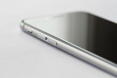 Iphone 6s abotona el detalle Imágenes de archivo libres de regalías