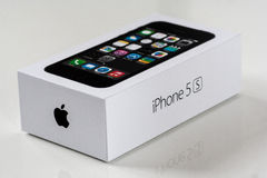 IPhone 5S box Stock Images