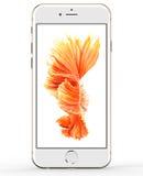 IPhone 6s 2015 de Apple Fotografía de archivo