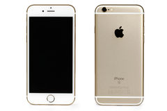 Iphone 6s. New gold-colored white iPhone 6s